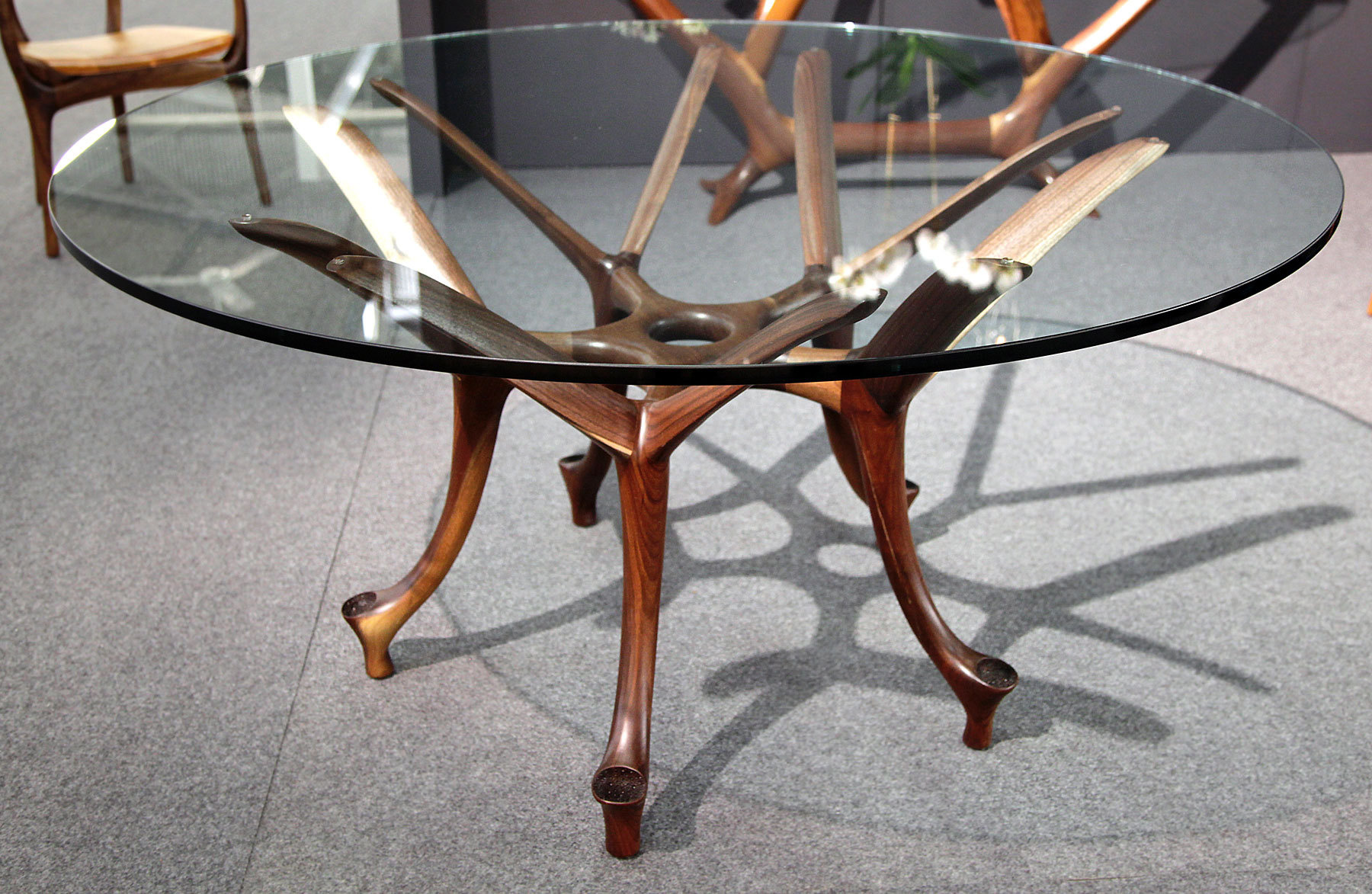Malabar table Handcrafted Contemporary Furniture Built to Last
